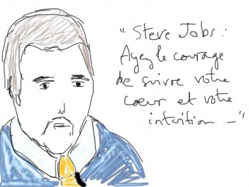 Citation de Steve Jobs...