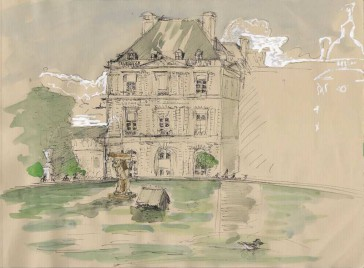 The Senate, at the Jardin du Luxembourg