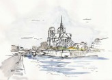 Notre-Dame seen from the Seine
