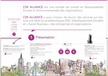 Plaquette CSR Alliance 7