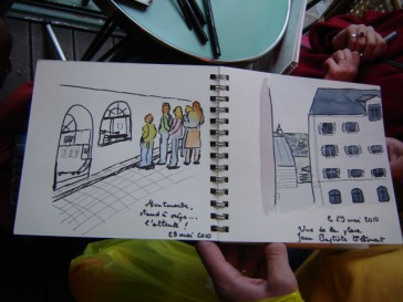 10 Class Pass for Watercolor Travel Sketching Classes