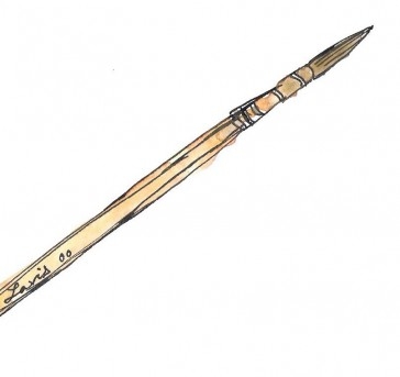 Middle-size Watercolor Brush