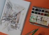 Watercolor Sketching Video Class – Tuesday, 4:00PM-5:00PM